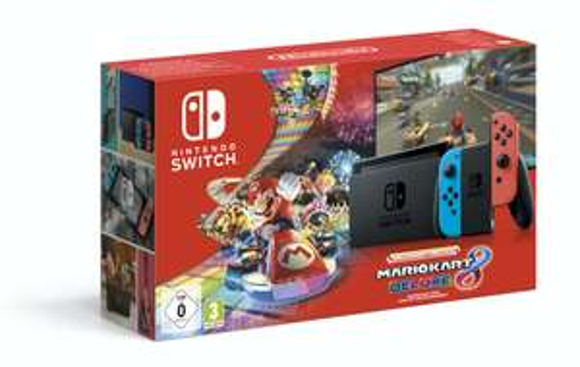 Nintendo Switch Console (2019 Model) + Mario Kart 8 Deluxe - £279 @ Coolshop