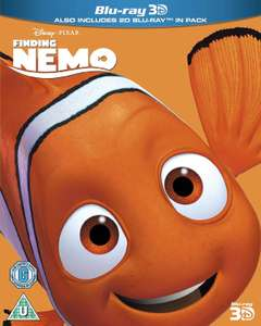 Finding Nemo [Region Free] Blu-ray +3D version £5.94 @ Amazon (+£2.99 Non-prime)