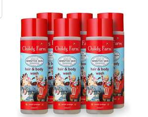 Childs Farm Hair and Body Wash, Sweet Orange, 250 ml, Pack of 6 - £14.99 (Prime) £19.48 (Non Prime) @ Amazon