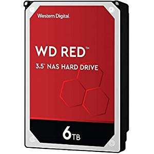 Western Digital Red 6TB Hard Drive - £122.99 @ Amazon