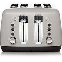 4 Slice Toaster - Grey Only £20 0 Free Click & Collect @ George