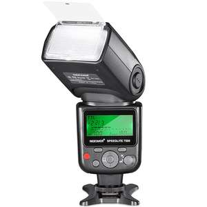 Neewer 750II TTL Flash Speedlite with LCD Display for Nikon Cameras - £26.94 Using Code - Sold by Nashes Camspace and Fulfilled by Amazon