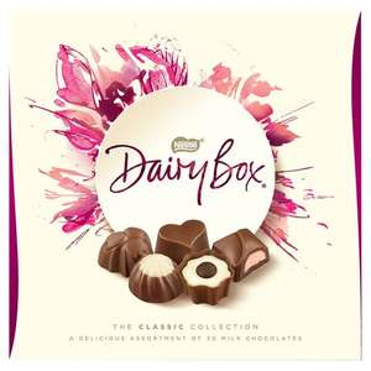 Nestle Dairy Box Boxed Chocolates 180G £2 at Tesco's