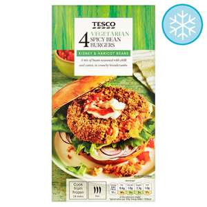 Tesco Bean Burgers on promotion at £1.00