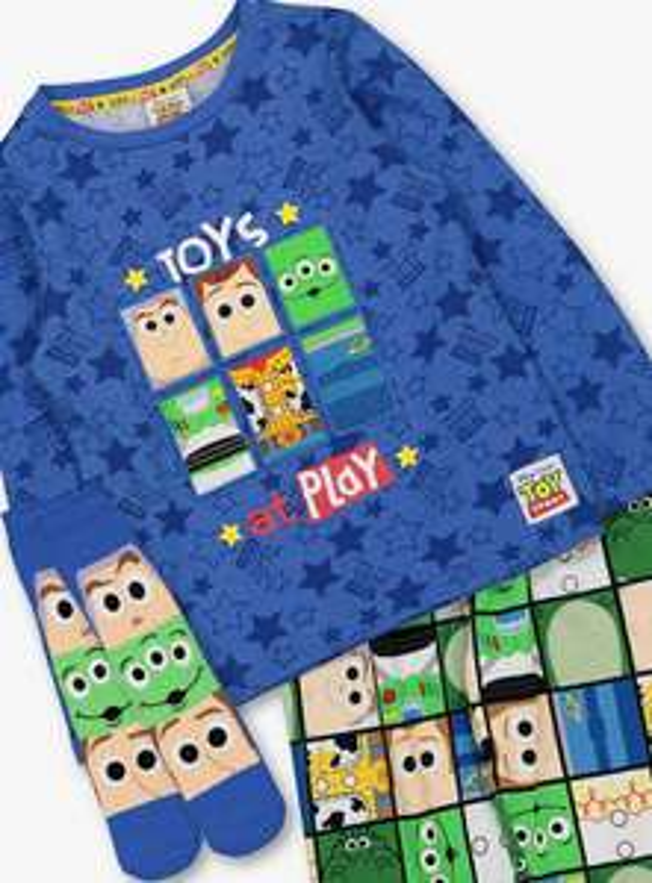 "Disney Toy Story ""Toys At Play "" Pyjamas & Sock Set Age 2-3 Yrs £6.50 ( slightly more for bigger sizes ) @ Argos"