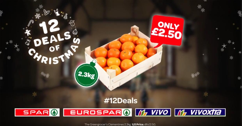 Clementines Box 2.3kg @ Spar £2.50 (N.Ireland Only)