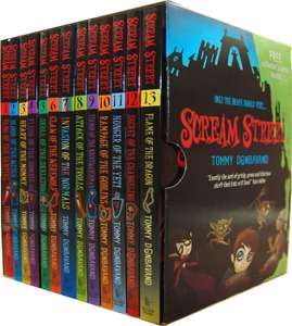 Scream Street 13 Books Collection Box Set Comedy Paperback Delivered with code @ Books2Door