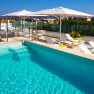 3 Night Stay - FLIGHTS, 4* HOTEL & BREAKFAST - MALLORCA Playa de Palma - Oceanfront Hotel Seasun Aniram 2 people Total £270 groupon