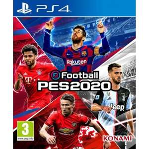 Efootball 2020 PES ps4 £26.95 @the game collection