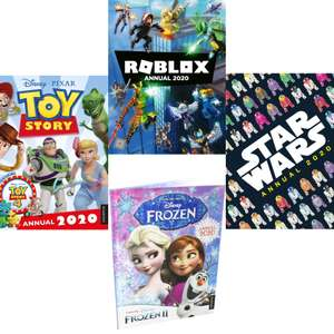 2020 Christmas Annuals Including Disney Toy Story, Frozen 2 and Star Wars now £1.99 each delivered @ Books2Door