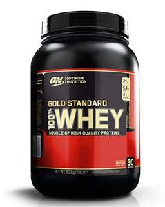 Optimum Nutrition Gold Standard Whey Protein, Strawberry, 30 Servings, 900g for £12.59 / 17.08 or £11.96 with S&S @Amazon