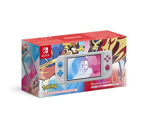 Nintendo Switch Lite - Zacian & Zamazenta Edition £174.98 (£170 with Fee Free Card) delivered @ Amazon Germany
