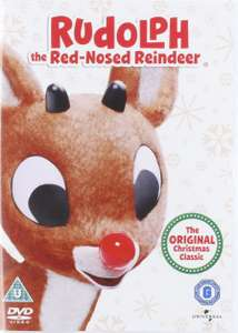Rudolph The Red Nosed Reindeer DVD plus £1.27 delivered via Musicmagpie on Amazon