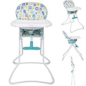 Graco Snack N' Stow Block Alphabet Highchair £22.95/ £25.90 Delivered @ Online4Baby