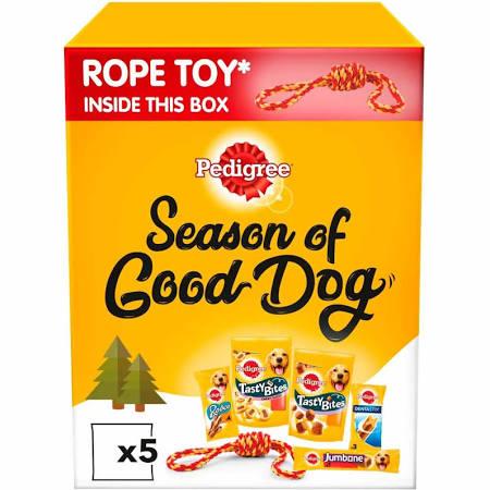 Pedigree Season of Good Dog box of treats and a toy £3 @ Asda