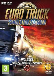 Euro Truck Simulator 2 Gold PC steam £4.79 via cdkeys