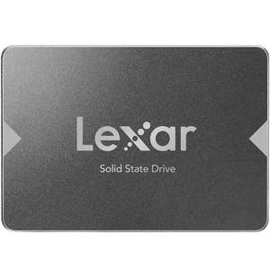 "Lexar 256GB NS100 2.5"" SATA III SSD Drive - 520MB/s (128TBW) for £23.74 With Code Delivered @ Mymemory"