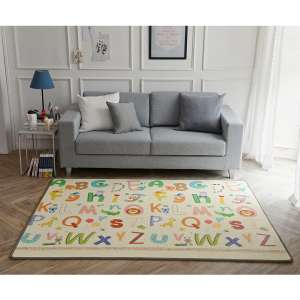 Eckhert 6.5ft x 4.9ft (200 x 150 cm) Children's Double Sided Play Mat (12+ Months) reduced to £17.96 Costco