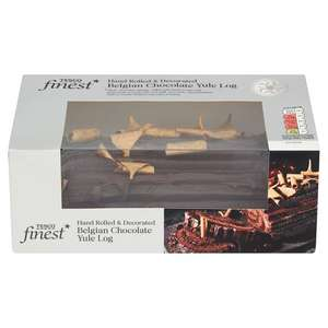 Tesco Finest Chocolate Yule Log £3.50 + 3 for the price of 2