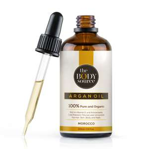 Argan Oil - 100% Pure and Organic - Cold Pressed, Extra Virgin and Bottled in Morocco (100ml) £10.49 (Prime) / £14.98 (non Prime) at Amazon