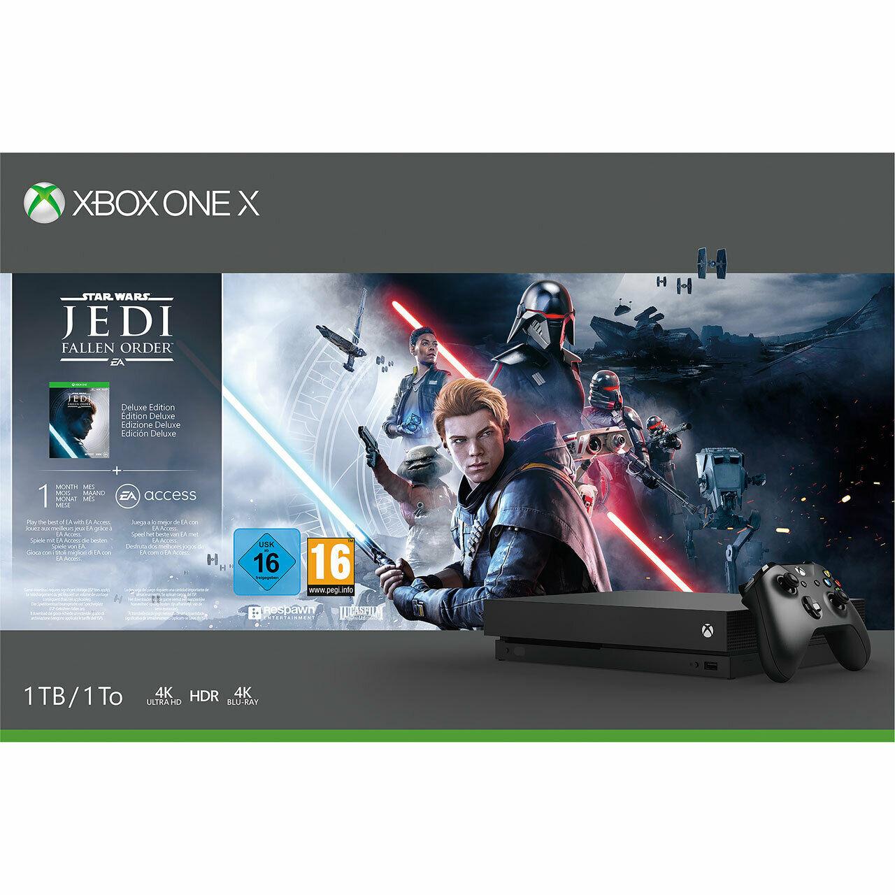 Xbox One X 1TB Console & Star Wars Jedi: Fallen Order Bundle - £265.05 Delivered @ Currys / eBay