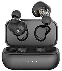 Dual Dynamic Drivers Wireless Earbuds, SoundPEATS Truengine SE Bluetooth 5.0 Earphones - £38.99 Sold by TEKTEK-EU and Fulfilled by Amazon