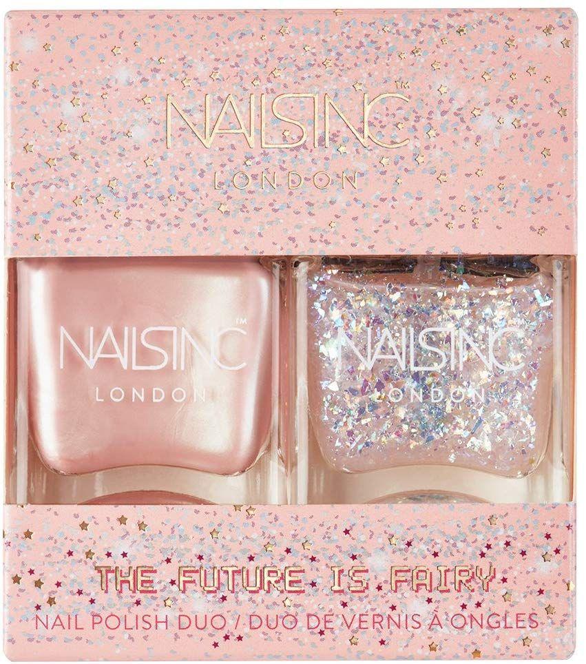Nails Inc Nail Polish Duo, The Future Is Fairy, 2x14ml £9.60 at Amazon Prime / £14.09 Non Prime
