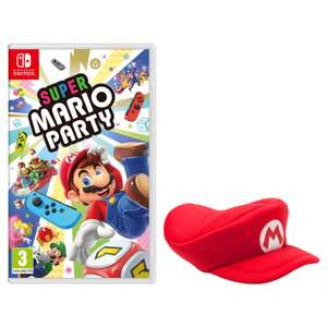Super Mario Party + Mario Cap - £54.99 @ Nintendo Shop