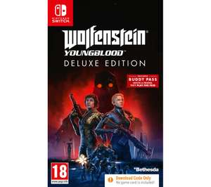 Wolfenstein: Youngblood (Switch / PS4 / Xbox One) £12.97 Delivered @ Currys PC World