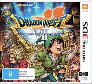 Dragon Quest VII Fragments of the Forgotten Past (3DS) AUSTRALIA IMPORT (UK/EU Compatible) £14.99 del @ Ebay Game Collection Outlet