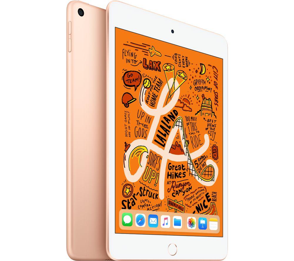 "APPLE 7.9"" iPad mini 5 (2019) - 64 GB, Gold for £379 @ Currys PC World"
