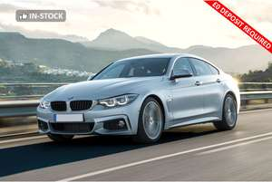 Car Lease - BMW 420i Gran Coupe M Sport Auto [Pro Media] Total cost £15,265.11 including £39.99 processing fee. @ Hippo Leasing