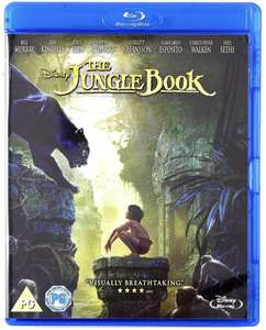 The Jungle Book (2016) Blu-Ray £3.39 @ Amazon (+£2.99 NP)