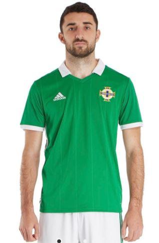 adidas Northern Ireland 2018/19 Home Shirt (Extra Small) - £10 at JD Sports