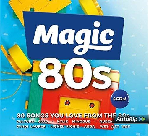 Magic 80s 4 CDs + AutoRip (see description) £3.59 @ Amazon (+£2.99 Non-prime)