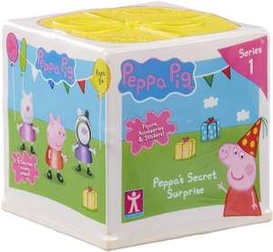Peppa Pig Surprise Box £4.99 (Minimum order 2 - £9.98) @ Amazon (+£4.49 Non-prime)
