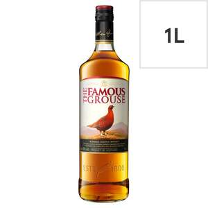 The Famous Grouse Scotch Whiskey 1L Bottle - £16 @ Tesco