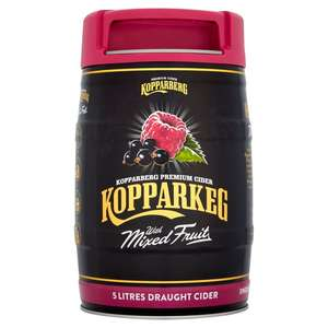 Kopparkeg Mixed Fruit (Abv 4%) 5L for £10 at Morrisons Airdrie, Glasgow