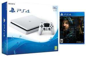 PS4 500GB (Glacier White / Black) Console + Death Stranding £189.85 Delivered @ Shopto
