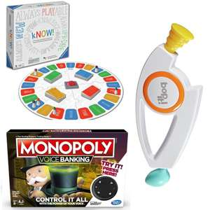 Extra 10% off Full Price & Sale Games / Board Games with code @ Argos