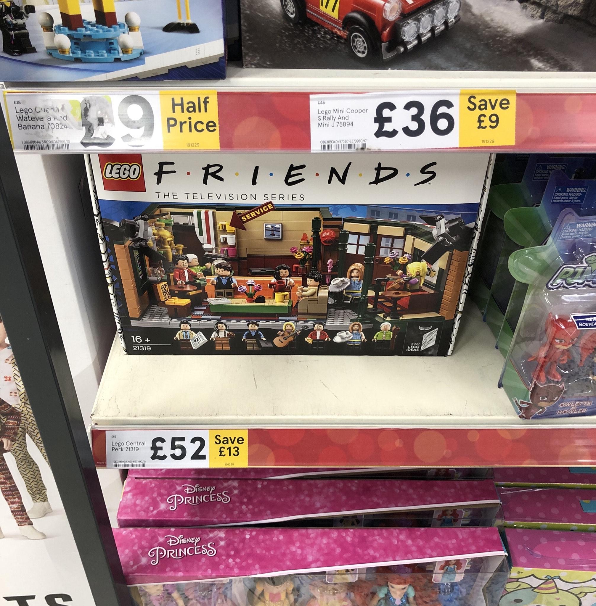 Lego FRIENDS 21319 £52 at Tesco Stockton