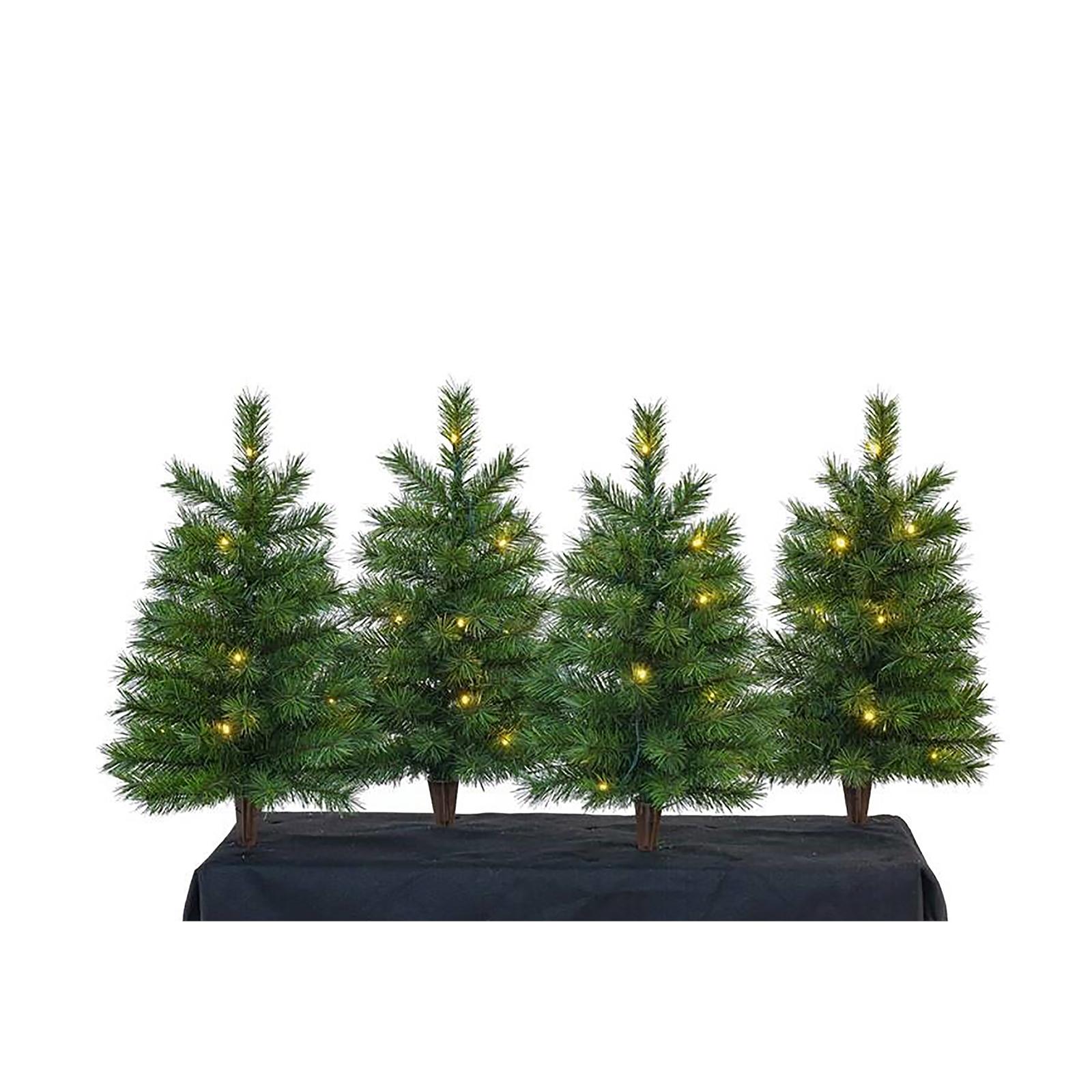 Mini Tree Stakes Set Of 4 £5 @ Homebase free C&C