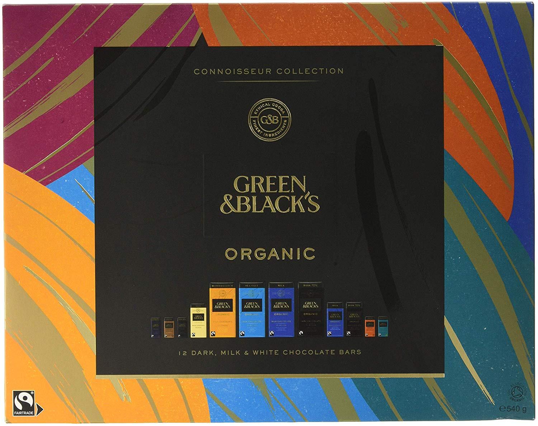 Green & Black's Organic Tasting Collection Boxed Chocolate, 540g - £6.99 (Prime) / £11.48 (Non Prime) delivered @ Amazon