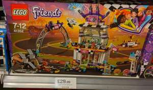 Lego friends The Big Race Day £29.99 instore @ Home Bargains Kirkstall Rd, Leeds