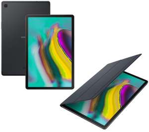 """SAMSUNG Galaxy Tab S5e 10.5"""" Tablet & Book Cover Bundle - 64 GB, Black £376.99 ( £326.99 after £50 cashback) @ Currys"""