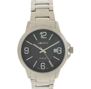 MONDAINE Silver Tone Titan Analogue Watch £59.99 @ TK Maxx
