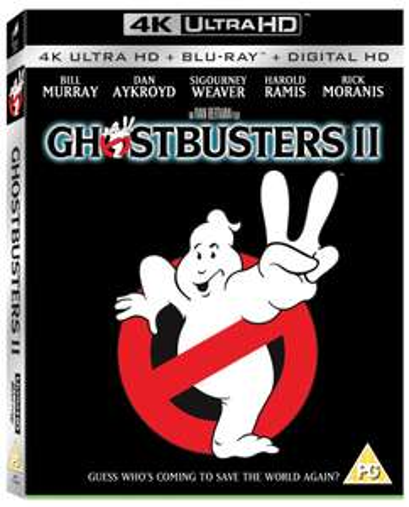 Ghostbusters 2 4k UHD Blu Ray - £6.99 @ HMV