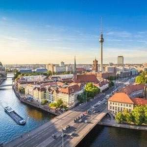 Berlin from £74pp/Park Plaza Berlin Kudamm 3* Depart Manchester on 7 Jan for two nights for two at Travel Supermarket