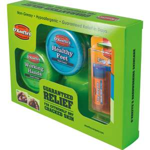O'Keeffe's Gift Pack Pack £10.98 @ Toolstation (Collection)