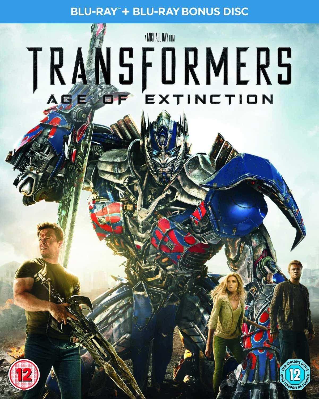 Transformers: Age of Extinction Blu Ray With Bonus Disc] £2.18 + £2.99 Non Prime @ Amazon